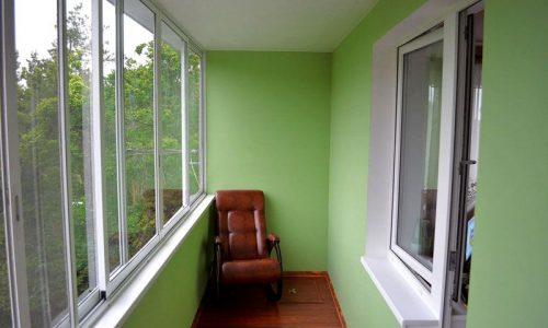 Балкон штукатурка